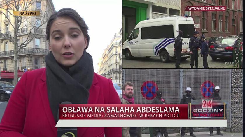 Belgia: Salah Abdeslam zatrzymany, trwa operacja policji