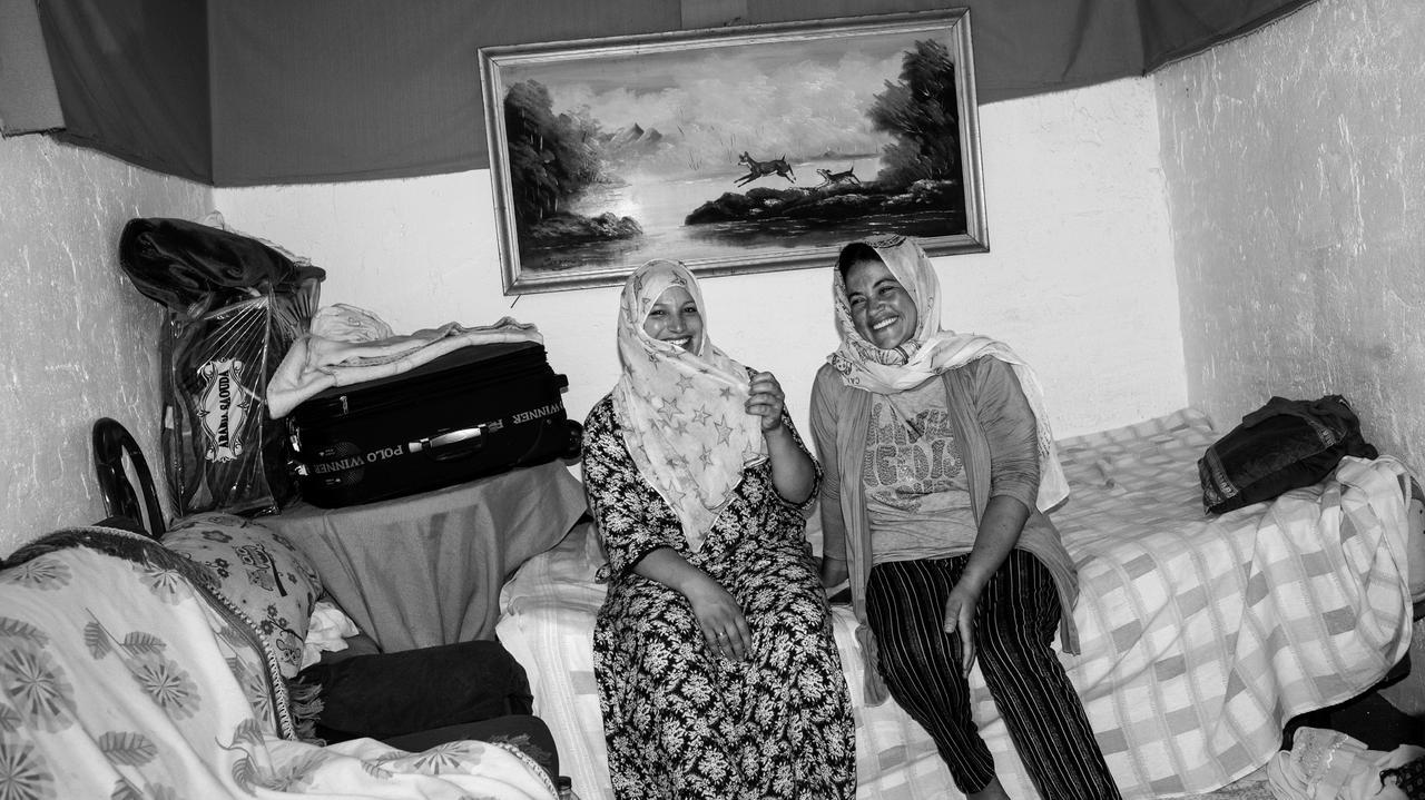 Przez rok fotografował uchodźców.