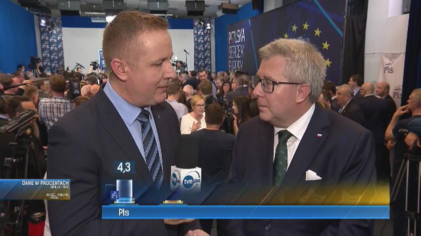 Czarnecki: Polacy nam zaufali. Teraz ciężka praca
