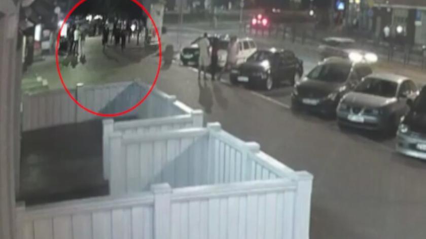 Na nagraniu z monitoringu widać moment wypadku