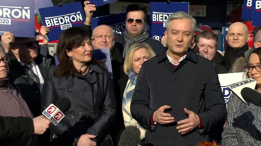 Robert Biedroń chce zebrać pół miliona podpisów pod listami poparcia