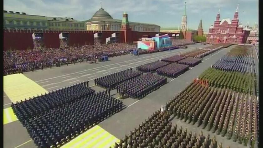 09.05 | Moskwa: defilada na placu Czerwonym
