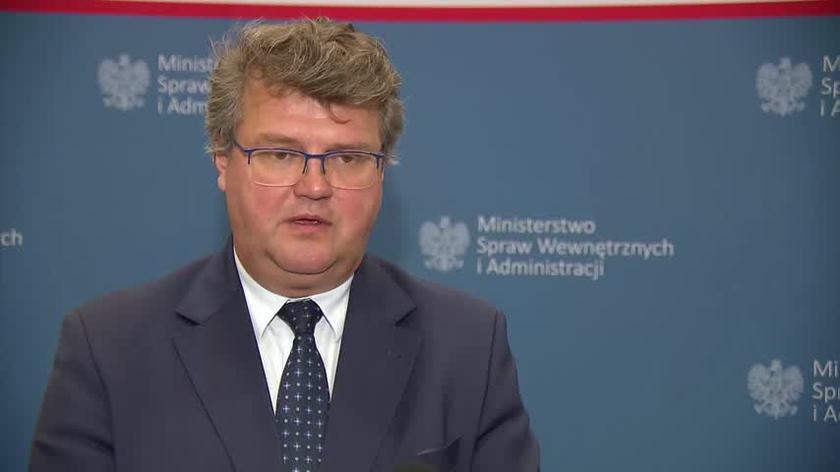 Wąsik o sytuacji w Usnarzu Górnym: to nie jest kryzys wizerunkowy dla Polski