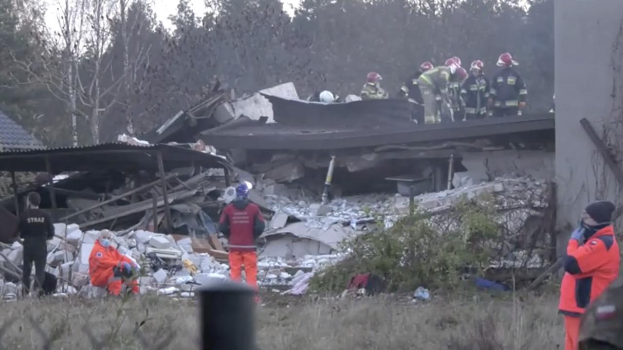 Dom po eksplozji runął, jedna osoba zginęła. Biegły: zawiniła samowolnie wybudowana instalacja