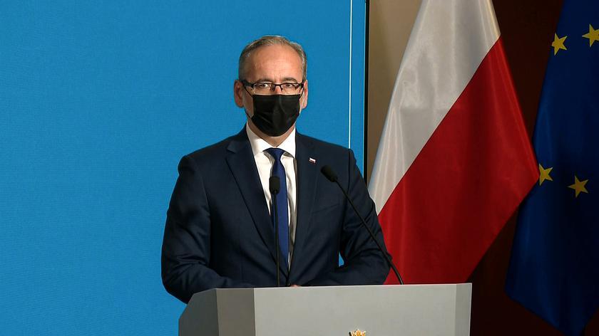 Niedzielski: powołaliśmy nowego wiceministra, który ma zająć się tymi sprawami, które są najbardziej palące