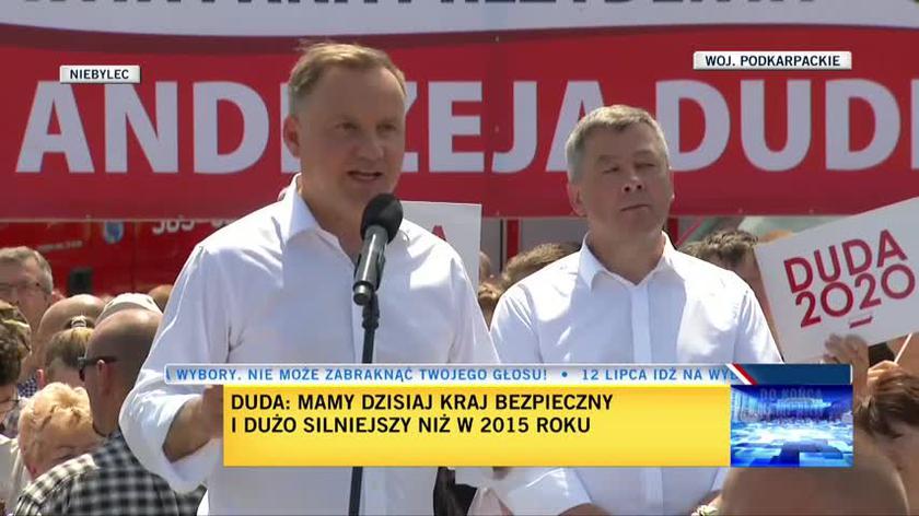 Duda: W drugiej kadencji prezydent odpowiada tylko przed Bogiem, historią i narodem