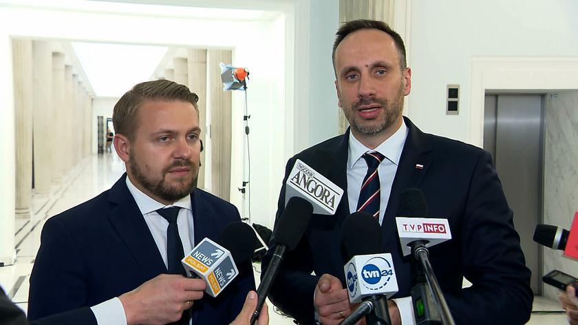 Jacek Ozdoba i Janusz Kowalski z Solidarnej Polski o kryzysie w koalicji