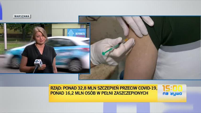 Wiceprezydent Warszawy: poziom wyszczepialności jest naprawdę bardzo duży