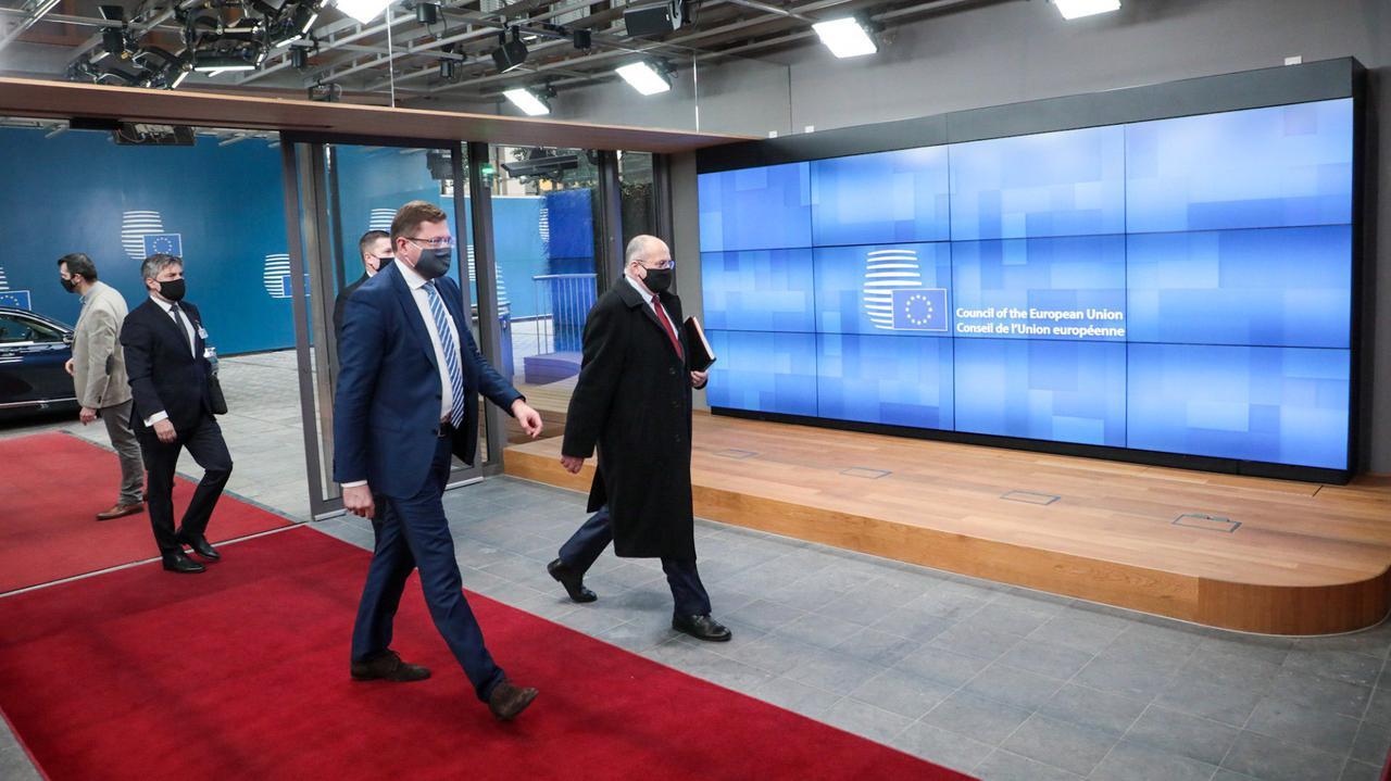 Rozmowy unijnych ministrów z sekretarzem stanu USA.