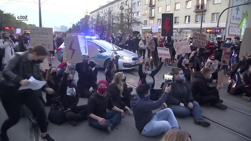 Protesty w Łodzi, Białymstoku, Warszawie i Kielcach