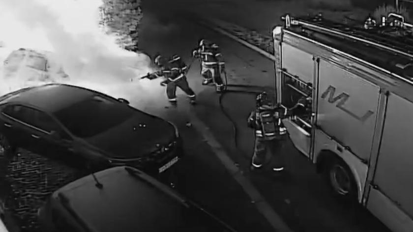 Gorzów Wielkopolski, Al. 11 Listopada: Podpalił auto, transmitował pożar w sieci