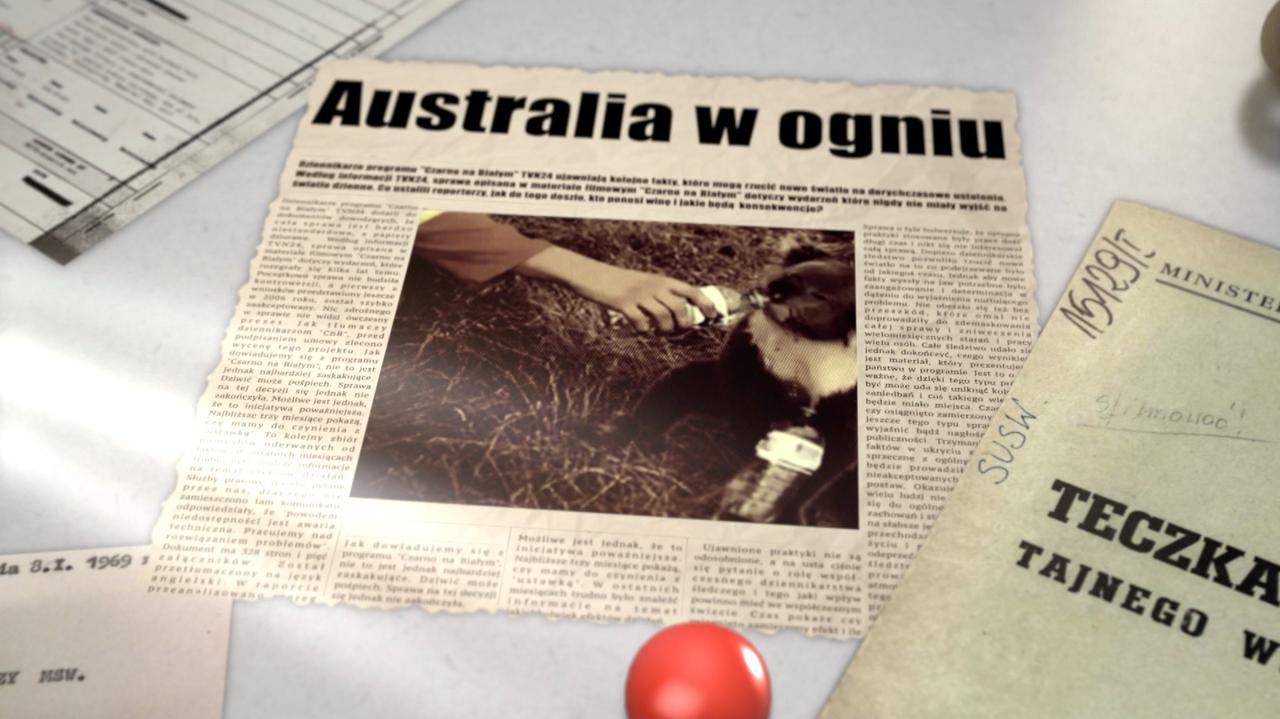 Ten raj stał się piekłem. Australia w ogniu