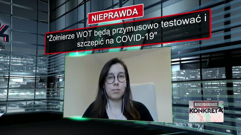 Żołnierze WOT będą przymusowo testować i szczepić na COVID-19