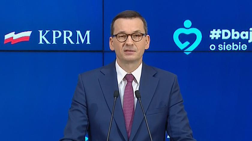 Morawiecki: odzyskujemy pole, stajemy na coraz bardziej twardym gruncie