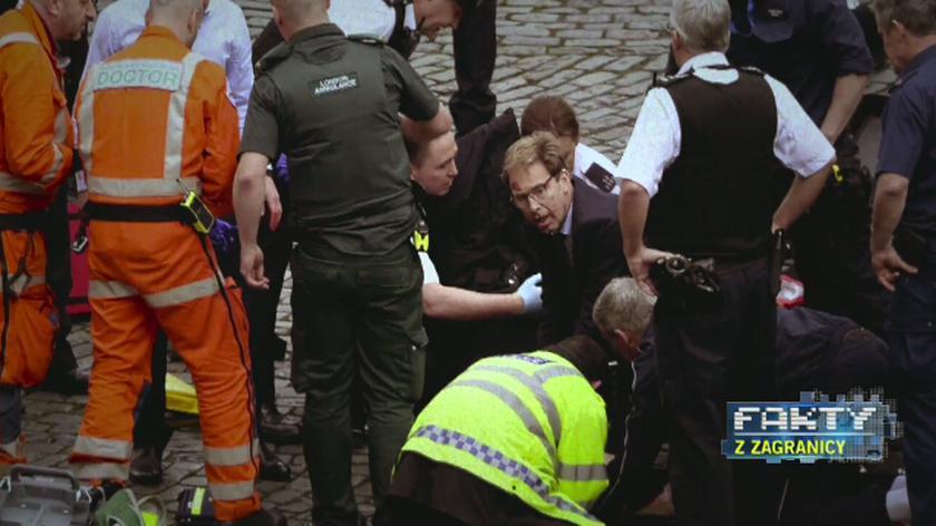 """""""Nie bał się wchodzić na linię strzału"""". Policjant i wiceminister symbolami ataku w Londynie"""