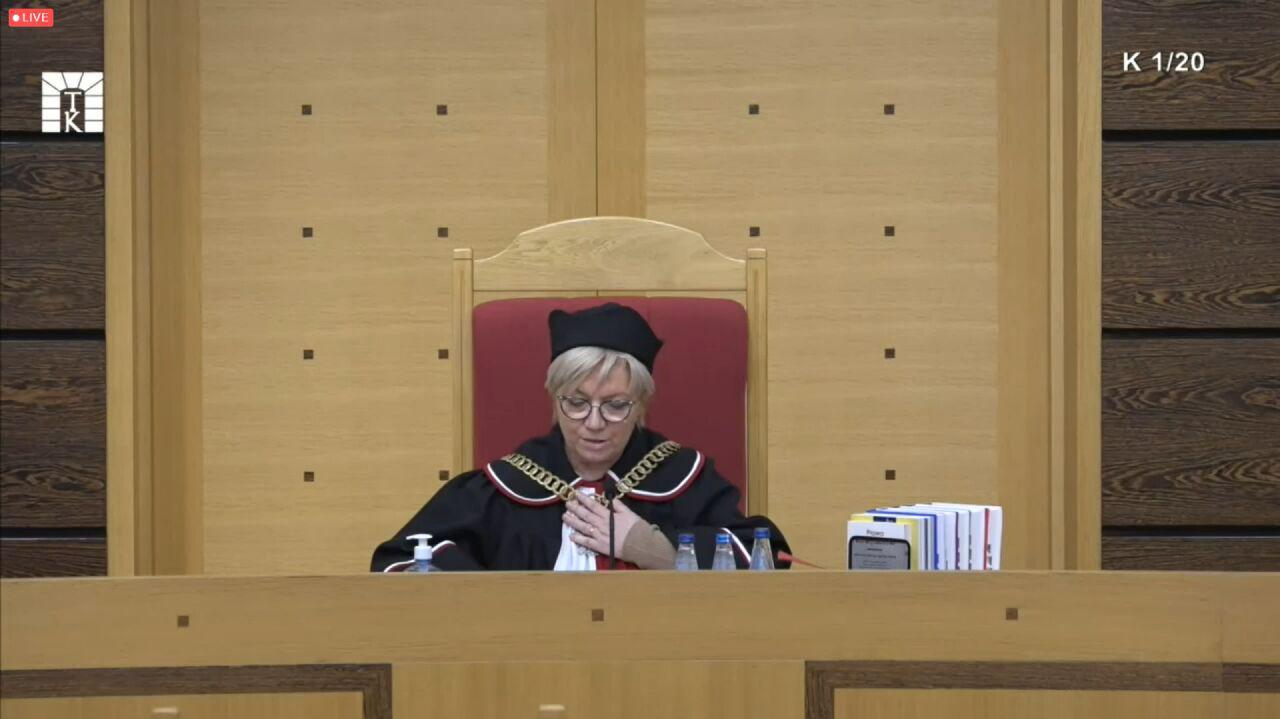 Prezes Przyłębska zarządziła ogłoszenie wyroku TK w sprawie aborcji