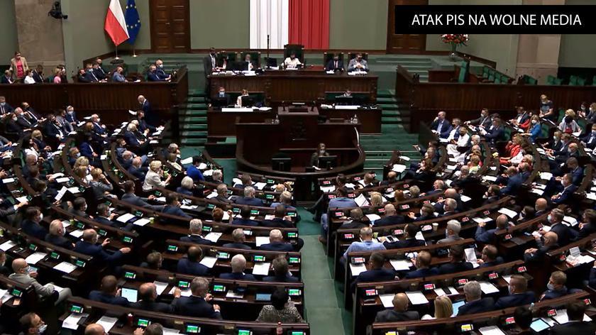 Ustawa anty-TVN przeszła przez Sejm