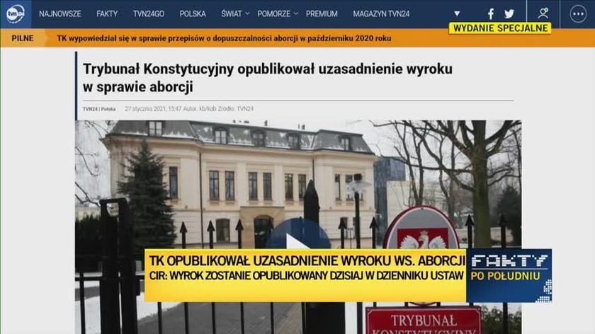 Dr Bogna Baczyńska: ten wyrok jest niezgodny z konstytucją