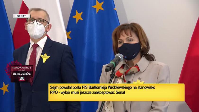 Morawska-Stanecka: nie może być poparcia ani klubu Lewicy, ani demokratycznej większości w Senacie dla tej kandydatury