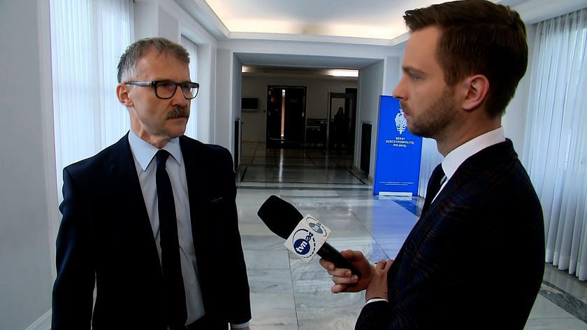 Mazur: gdyby stroną w sprawie był Jarosław Kaczyński, wyłączyłbym się od jej rozpoznania