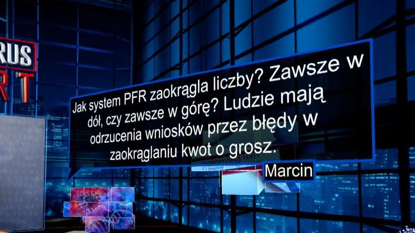 Paweł Borys: nie ma takiej możliwości, żeby zaokrąglenia były powodem odmowy wniosku (mat. archiwalny)