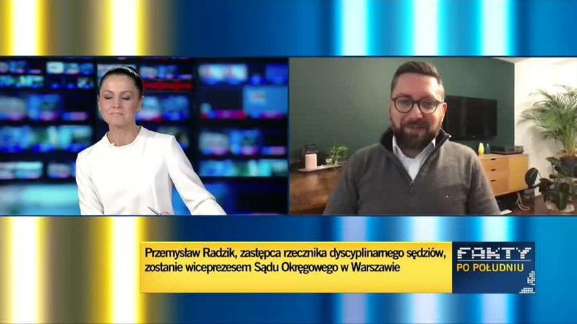 Przemysław Radzik wiceprezesem SO w Warszawie