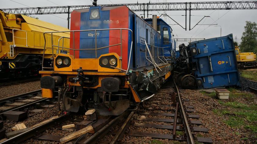 Zderzenie pociągów w Dąbrowie Górniczej