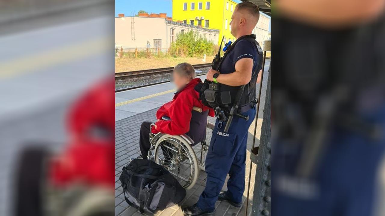 Niepełnosprawnemu odmówiono sprzedaży biletu, bo chciał podróżować bez opiekuna. Pomogli policjanci