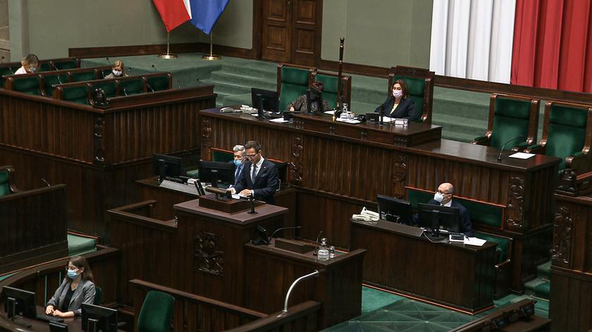 W Sejmie informacja na temat KPO. Przedstawił ją wiceminister Buda