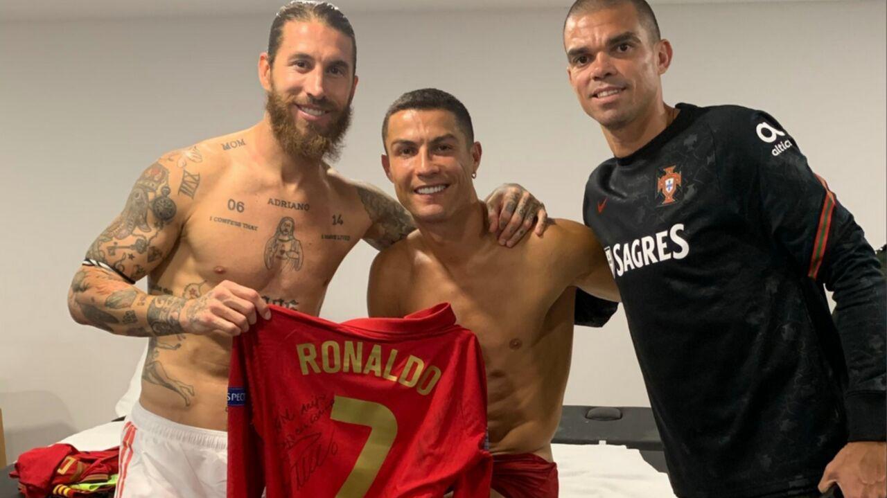 Ronaldo i Ramos znowu w jednej szatni