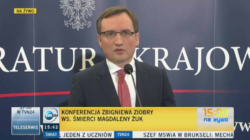Minister sprawiedliwości: ciało Magdaleny Żuk już w Polsce