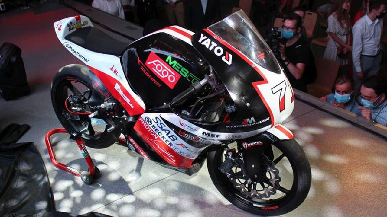 Studenci skonstruowali sportowy motocykl elektryczny. Będzie ścigał się w Hiszpanii