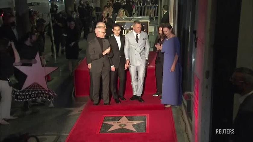 Daniel Craig z gwiazdą na Hollywoodzkiej Alei Sław