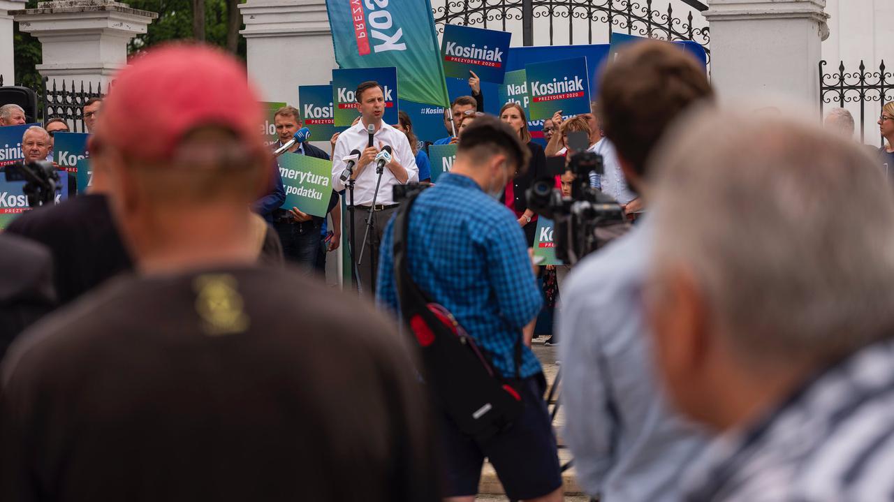 Kosiniak-Kamysz: prezydent staje przed wielką szansą