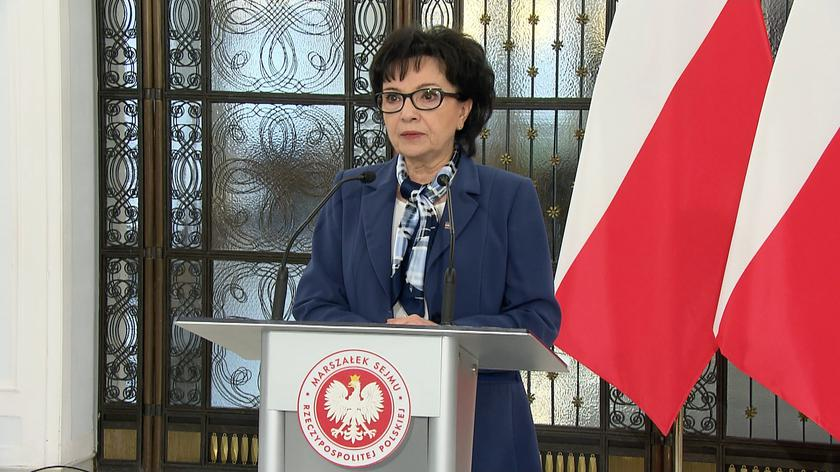 Witek: podjęliśmy dzisiaj uchwałę o zmianie regulaminu Sejmu