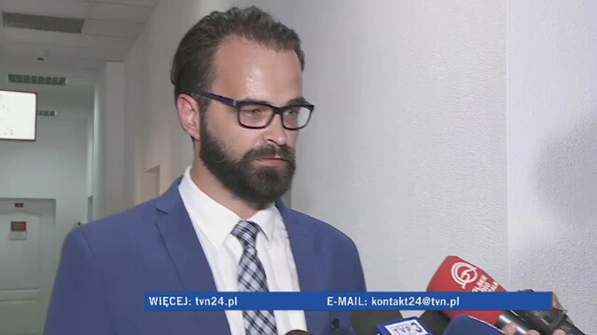 Adwokat złożył zawiadomienie o możliwości popełnienia przestępstwa