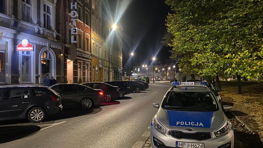Agnieszka Huczek z policji w Nysie o spotkaniu w hotelowej restauracji