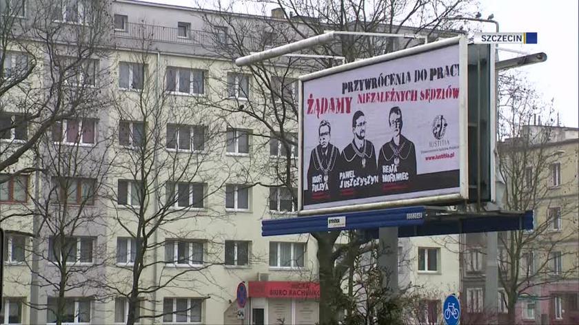 Protesty w kilku miastach Polski w obronie sędziów i prokuratorów
