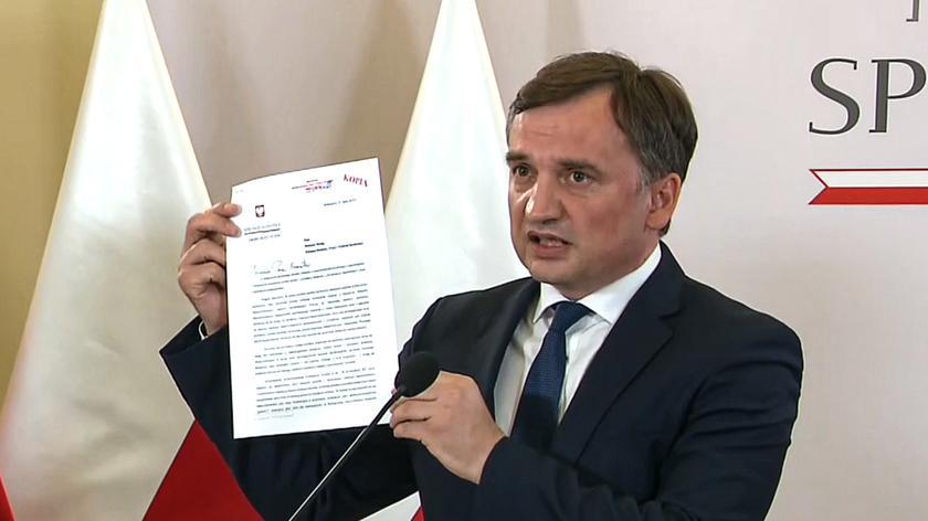 Ziobro złożył wniosek o wypowiedzenie Konwencji antyprzemocowej