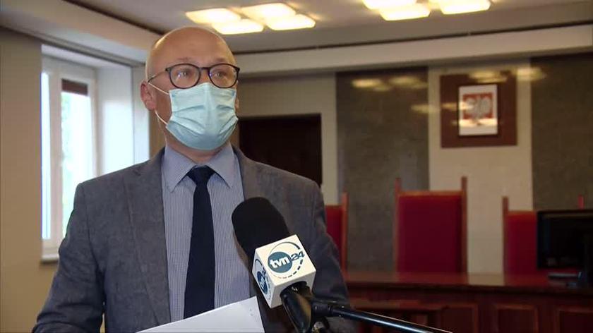 Marcin Walczuk z Sądu Okręgowego w Suwałkach mówi, że policja nie miała żadnych dowodów na winę nastolatka