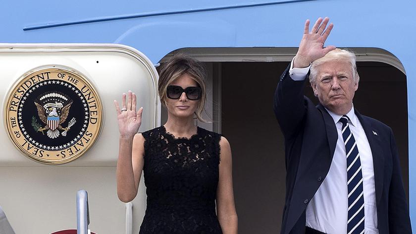 Donald Trump przyleci do Polski w środę