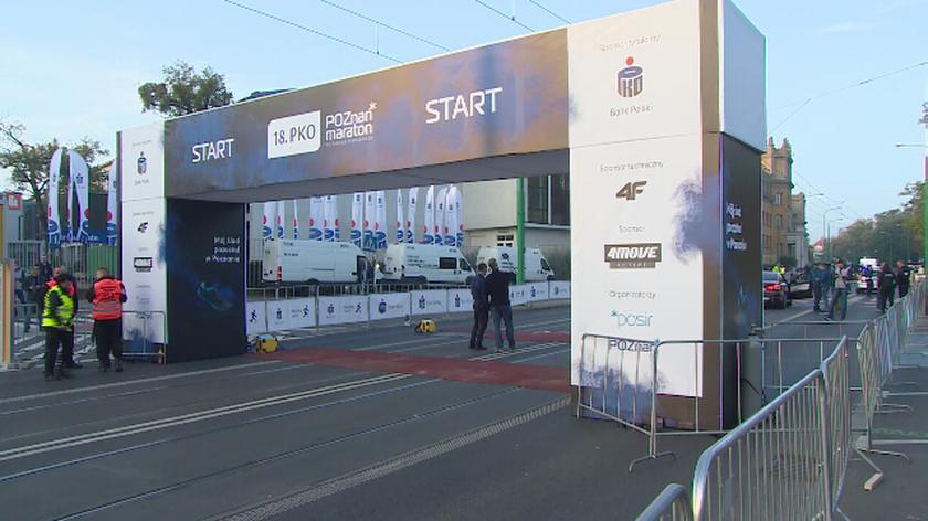 Opóźniony maraton w Poznaniu