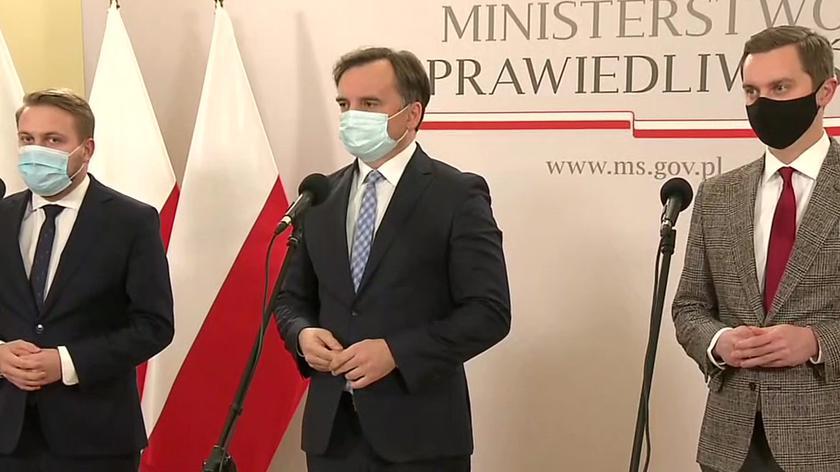 Ziobro: głosami 12 do 8 zarząd Solidarnej Polski odrzucił wniosek o wyjście z koalicji