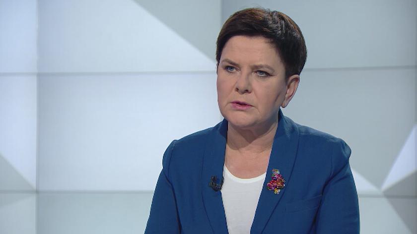 """Beata Szydło o okrągłym stole w """"Rozmowie Piaseckiego"""""""