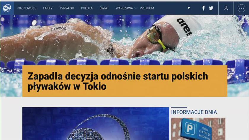 Jędrzejczak o sytuacji polskich pływaków w Tokio: zawodnicy piszą oficjalny list z petycją o odwołanie zarządu