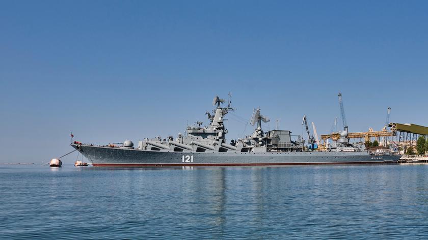 Rosyjskie okręty ćwiczą na Morzu Czarnym