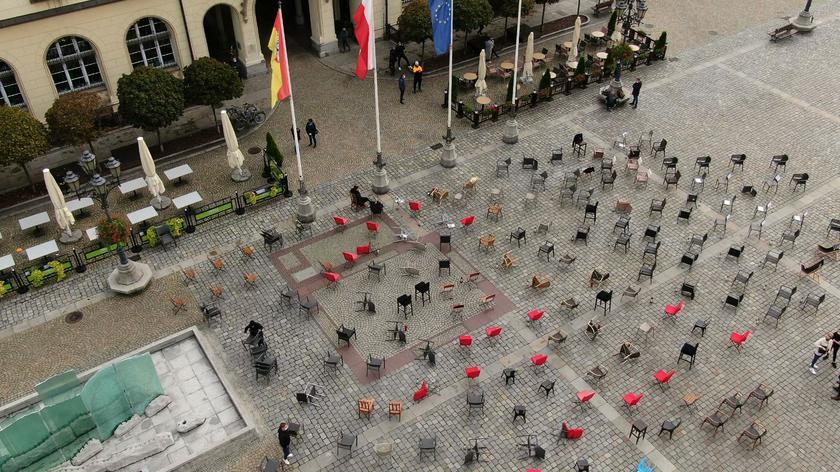 Wrocławscy restauratorzy protestują przeciwko obostrzeniom