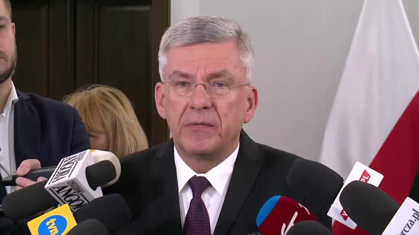 Stanisław Karczewski doradza rezydentom pracę dla idei (nagranie z października 2017)
