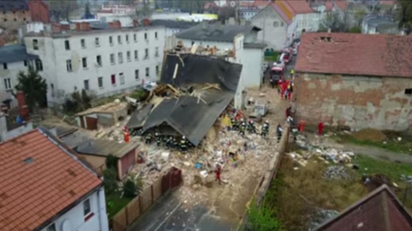 Zdjęcia z lotu ptaka pokazują skalę zniszczeń