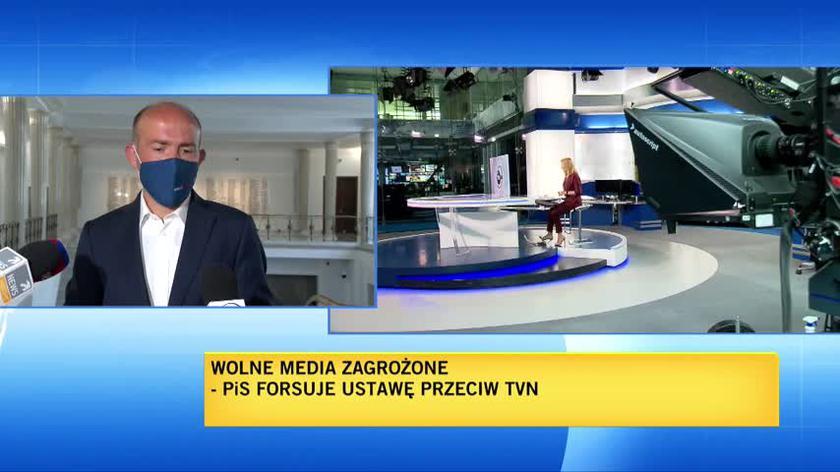 Budka (PO): Kaczyński chciałby, żeby było tak, jak kiedyś: jedna władza, jedna partia, jeden kanał telewizyjny